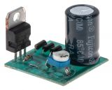 Adjustable rectifier, voltage regulator 1.5 to 35VDC/1.5A, KIT-В331