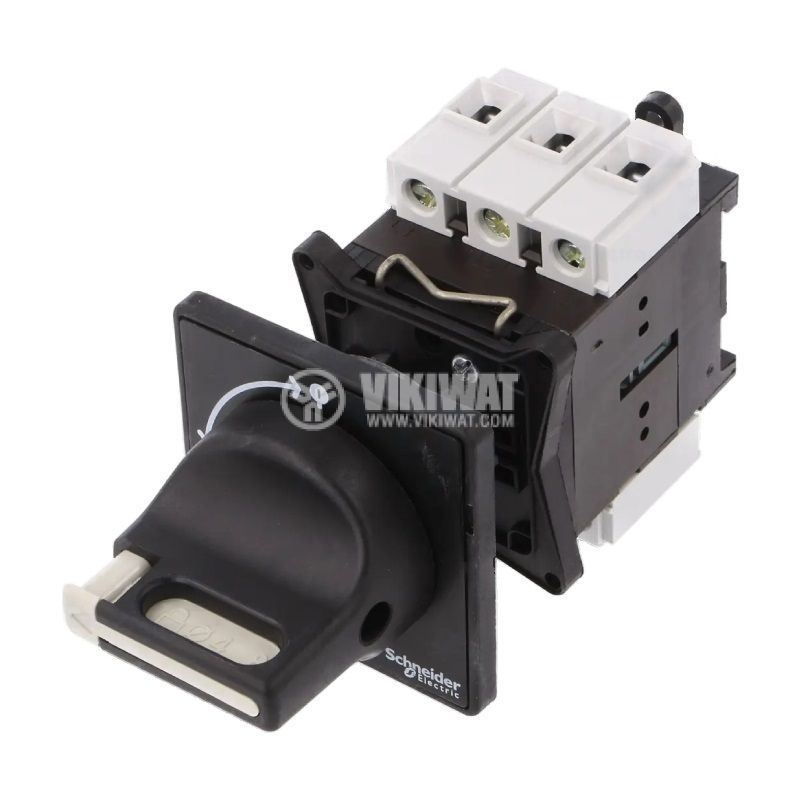 Rotary cam switch, 20А, 690VAC, 1 section, 3 contacts, 2 positions, VBF01, access control