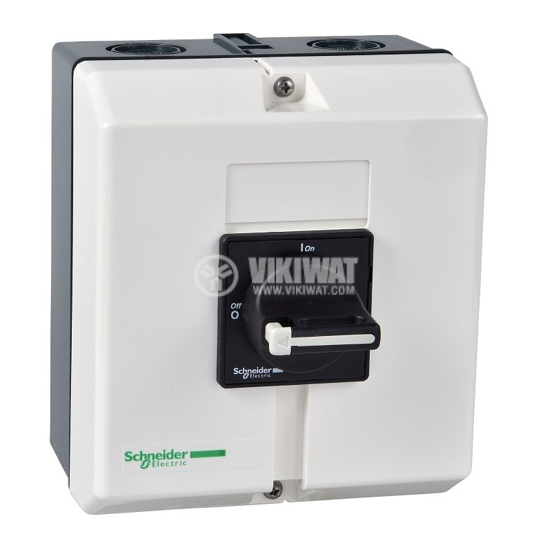 Rotary cam switch, 50А, 690VAC, in case, 3 contacts, 2 positions, VBF3GE, access control