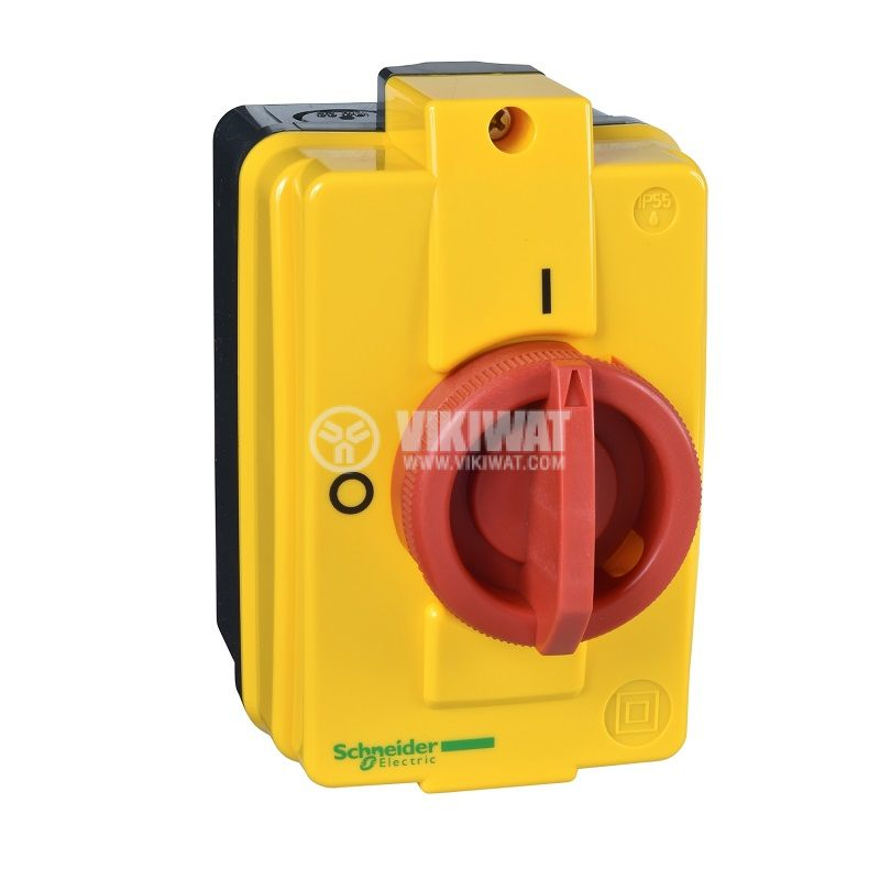 Rotary cam switch, 16А, 690VAC, in case, 3 contacts, 2 positions, VCFN20GE, access control