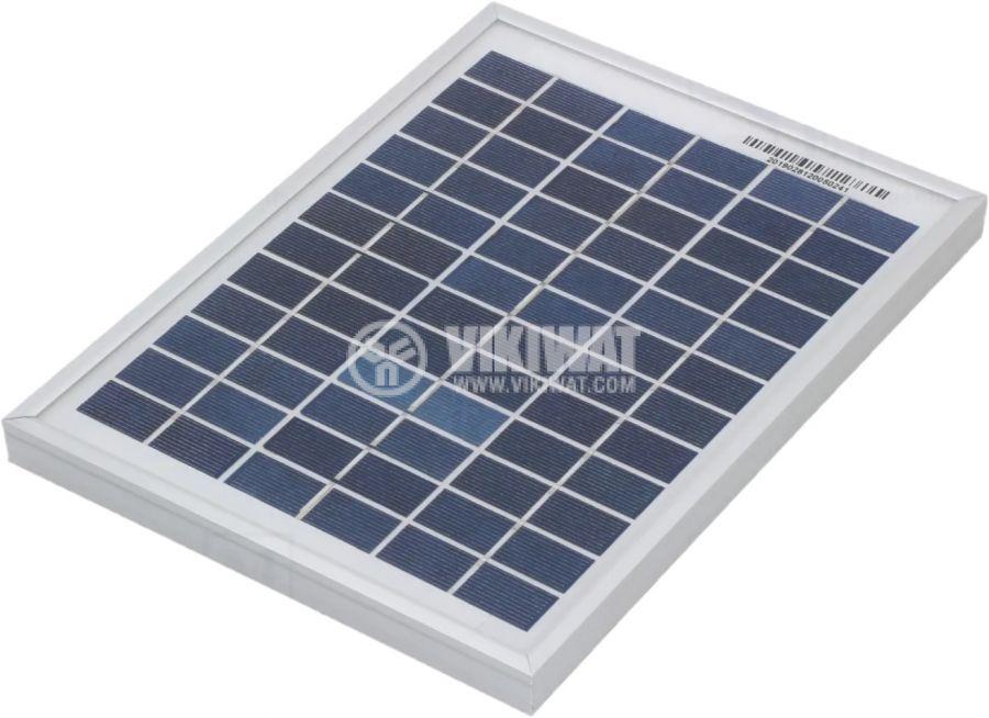 Соларен панел CL-SM5P, 5W, 0.28A, 251x186x18mm