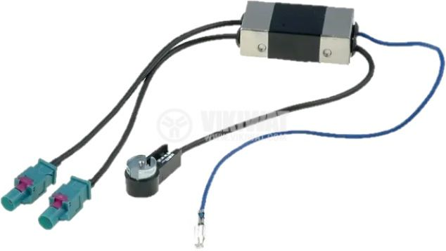 Антенен сепаратор, 0.25m, ISO-Fakra x 2, Audi, Seat, Skoda и VW