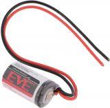 Lithium battery EVE-ER14250 FL 14.5x25.4 1/2AA 3.6V 1200mAh