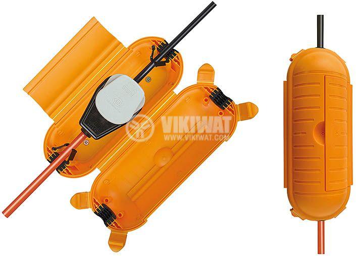 Предпазна кабелна кутия за открито IP44, Brennenstuhl 1160440 - 5