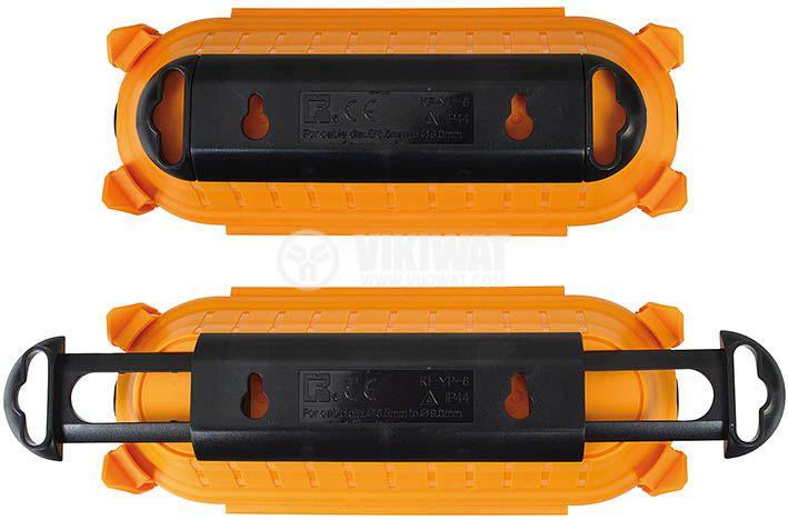 Външна кутия за кабели и щепсели, brennenstuhl 1160440, оранжева  - 4