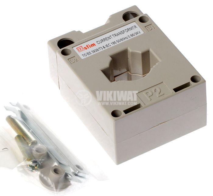 Токов трансформатор 100/5 А, MSQ-30 - 2