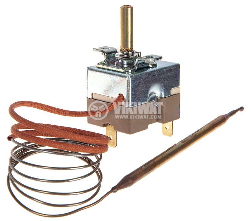 Терморегулатор капилярен 50°C~150°C, NC, 16A/250V - 2