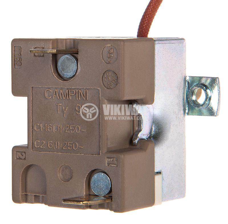 Терморегулатор 50°C~190°C, NC, 16A/250V - 3