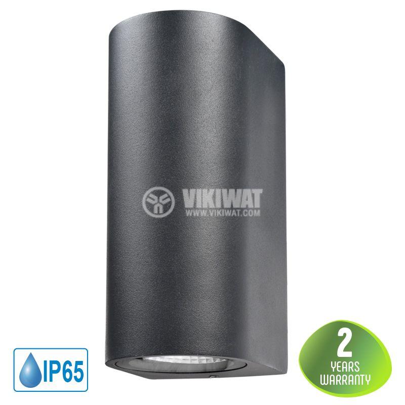 LED garden lamp RITA, 10W, 220VAC, 900lm, 3000K, warm white, IP65, waterproof, BG40-00202 - 1
