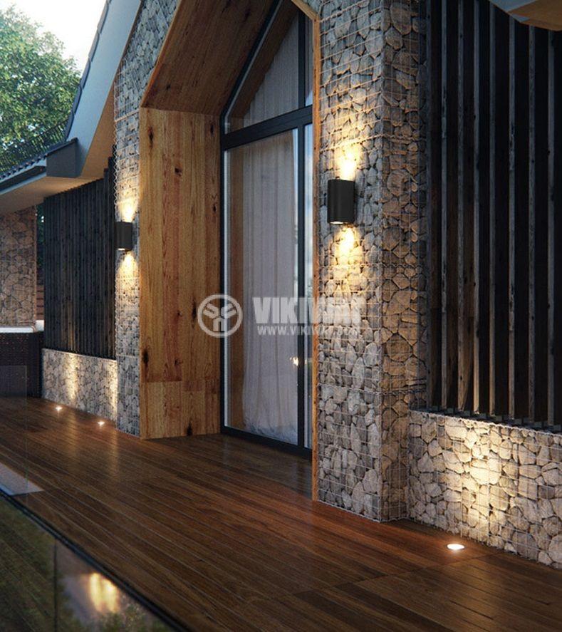 LED garden lamp RITA, 10W, 220VAC, 900lm, 3000K, warm white, IP65, waterproof, BG40-00202 - 2