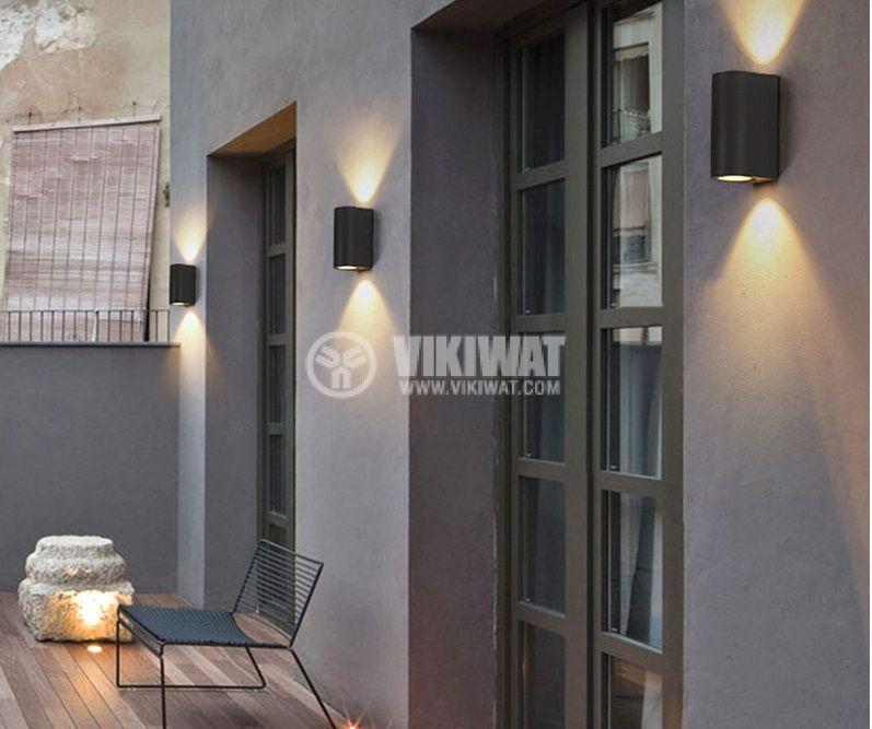 LED garden lamp RITA, 10W, 220VAC, 900lm, 3000K, warm white, IP65, waterproof, BG40-00202 - 3