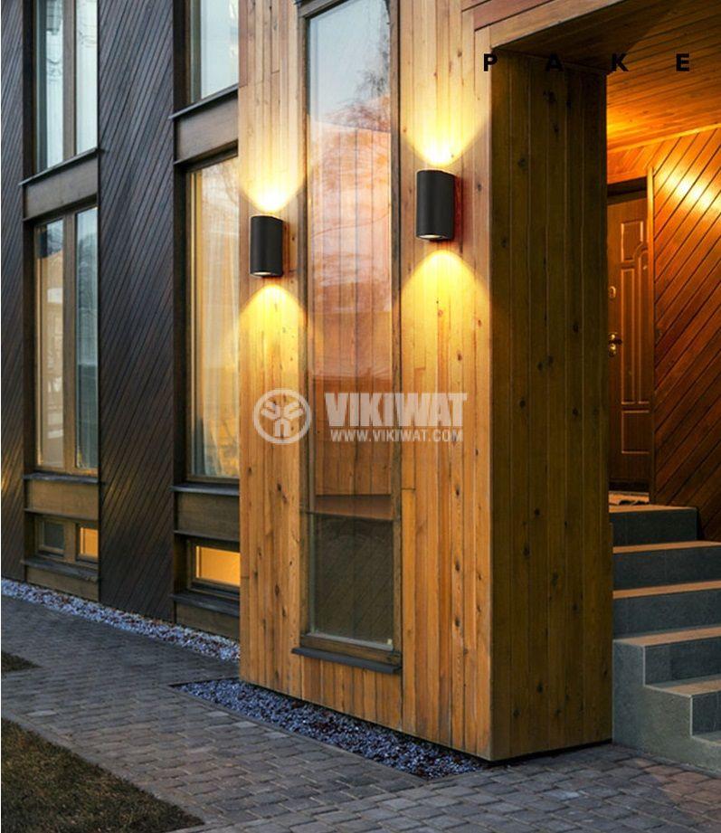 LED garden lamp RITA, 10W, 220VAC, 900lm, 3000K, warm white, IP65, waterproof, BG40-00202 - 4