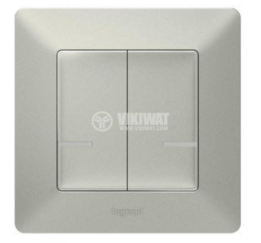 Сериен безжичен ключ Netatmo 752387 Valena Life, aлуминий, Legrand  - 1