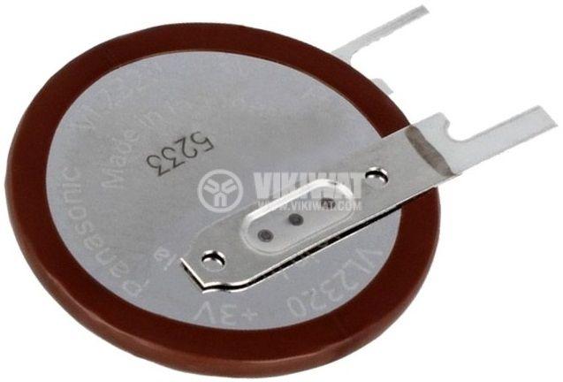 Акумулаторна батерия 3V, 50mAh, Li, за печатен монтаж