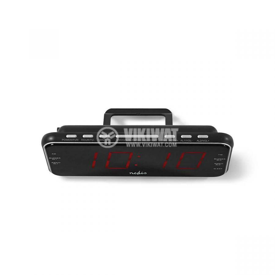 Digital clock with radio and alarm clock CLAR004BK - 5