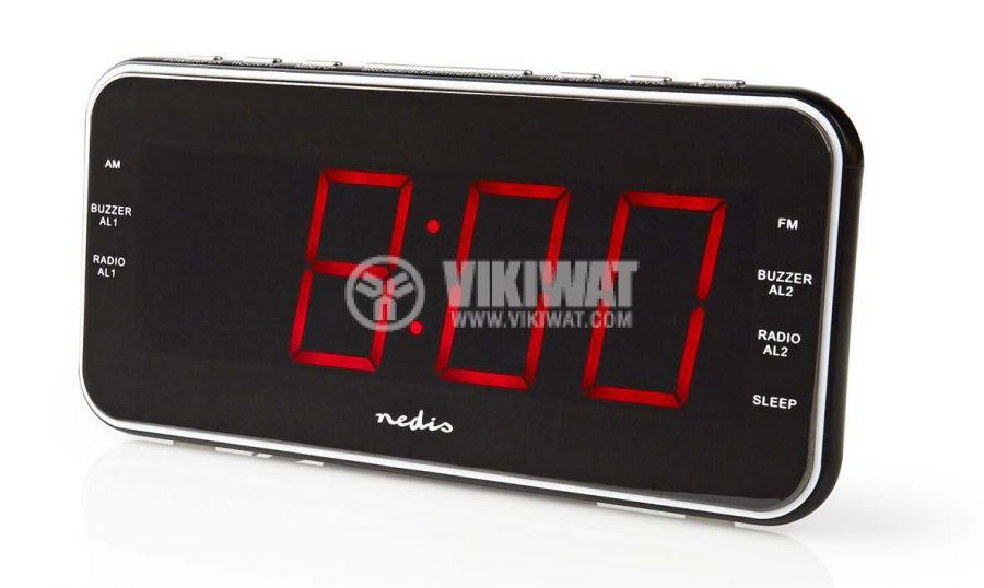 Clock with radio - 2