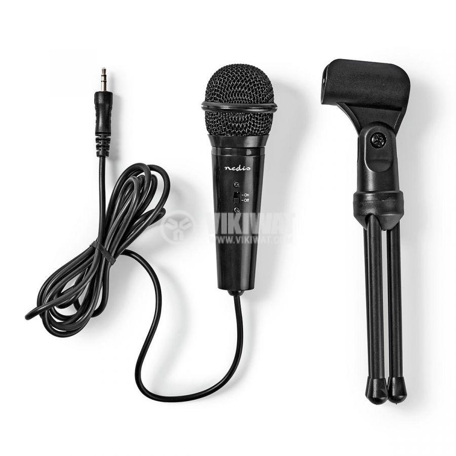 Микрофон MICTJ100BK, настолен, 3.5mm, 50Hz-16kHz   - 6