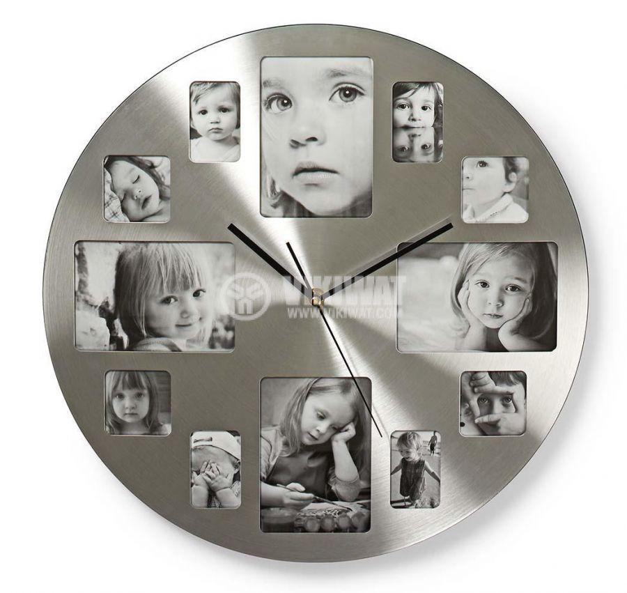 Кръгъл стенен часовник - 1