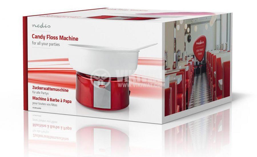Cotton candy machine 500W red/white FCCM100FRD - 9