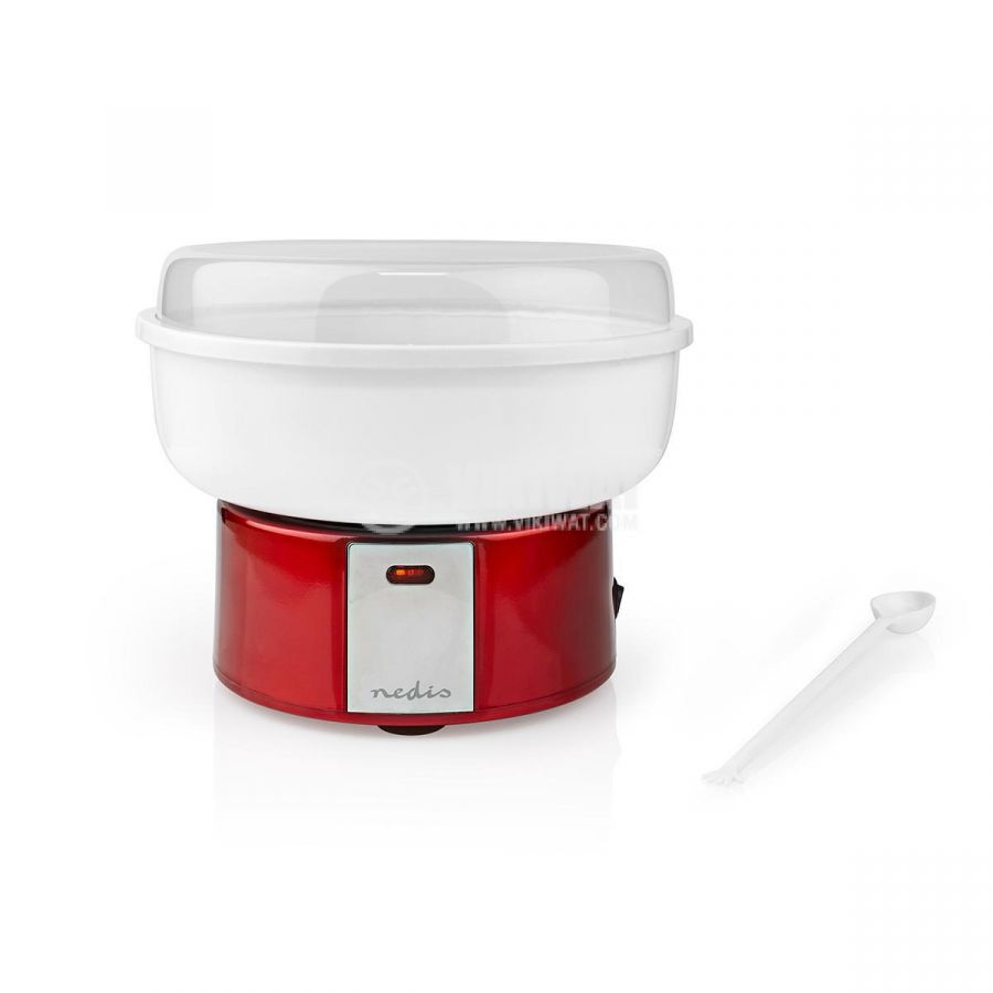 Cotton candy machine 500W red/white FCCM100FRD - 3