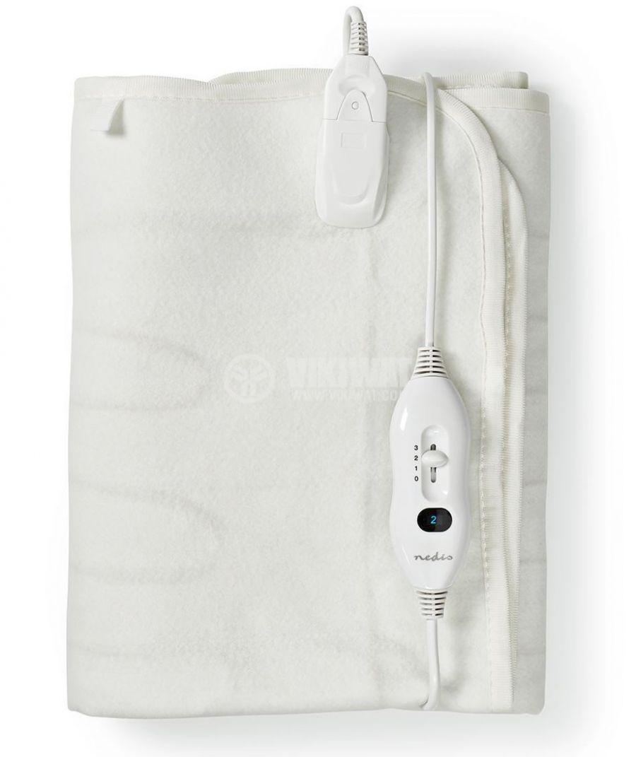 Електрическо одеяло, 80x150см, 3 настройки на затопляне, перящо - 1