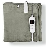 Electric blanket, 80x150cm, 9 heating settings, washable