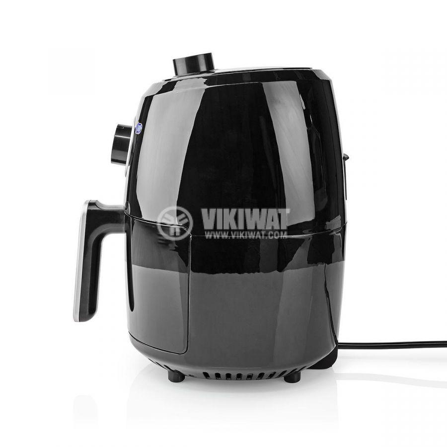 Уред за готвене с горещ въздух, Еър Фрайър, 2400ml, 230VAC, 1000W, черен, NEDIS KAAF120FBK - 8