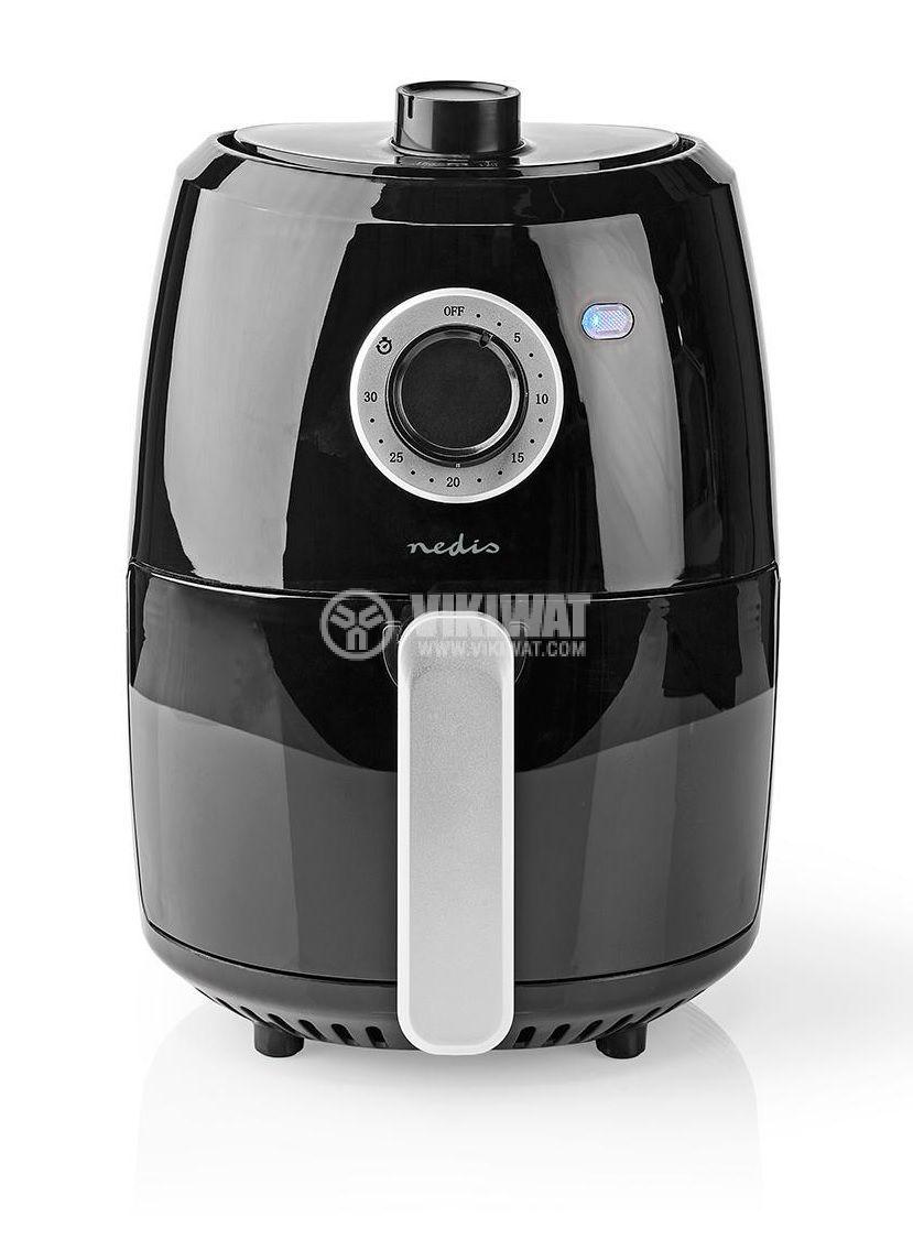 Уред за готвене с горещ въздух NEDIS KAAF120FBK - 1