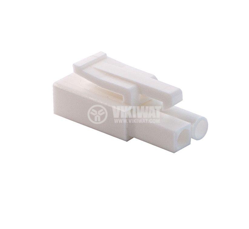 Конектор за обемен монтаж мъжки, VF45002-2P, 2 пина - 1