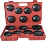 Set of inserts for changing oil filter 15 pcs. 65~100mm Premium