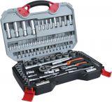 Gedore set, ratchet, screwdriver, inserts, bits and extensions, 94 parts, PREMIUM