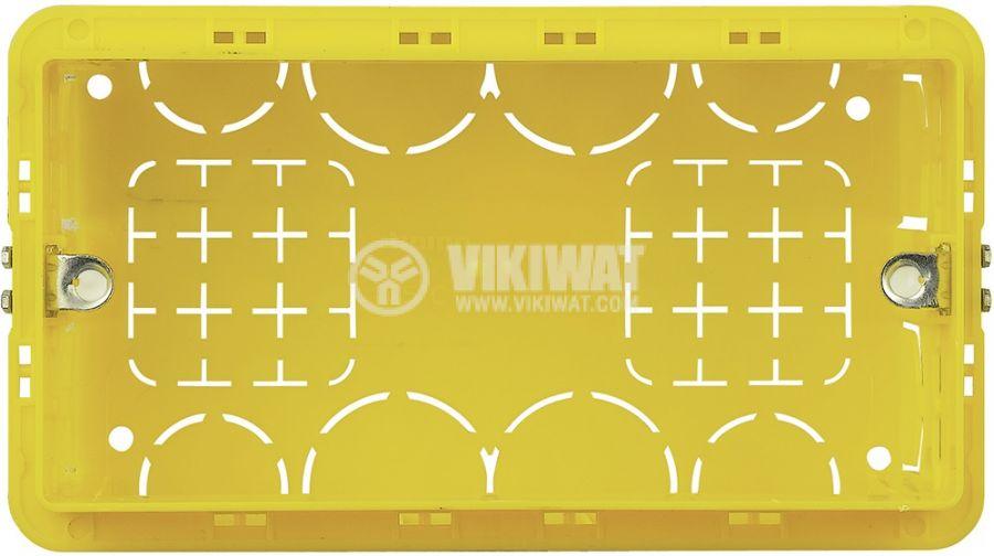 Конзола за зидария, четворна, 50mm, BTICINO 504E