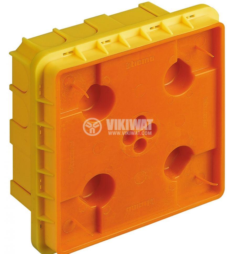 Конзола за зидария, 4+4 модула, 60mm, BTICINO 528W