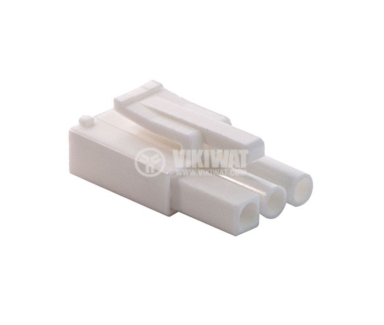 Конектор за обемен монтаж мъжки, VF45002-3P, 3 пина - 1