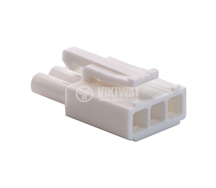 Конектор за обемен монтаж мъжки, VF45002-3P, 3 пина - 4