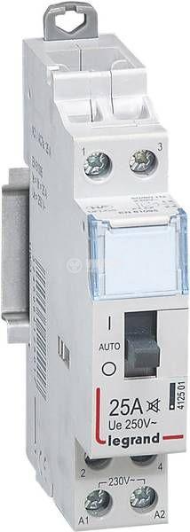 Контактор 4 125 01, 2-полюсен, 2xNO, 230VAC, 25A