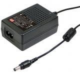 Адаптер 5VDC, 4A, 20W, 80~264VAC, 113~370VDC, импулсен, GSM25B05-P1J