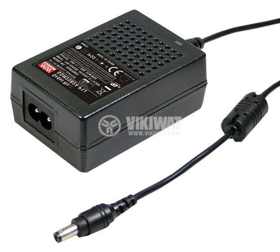 Power adapter MEAN WELL GSM25B24-P1J - 1