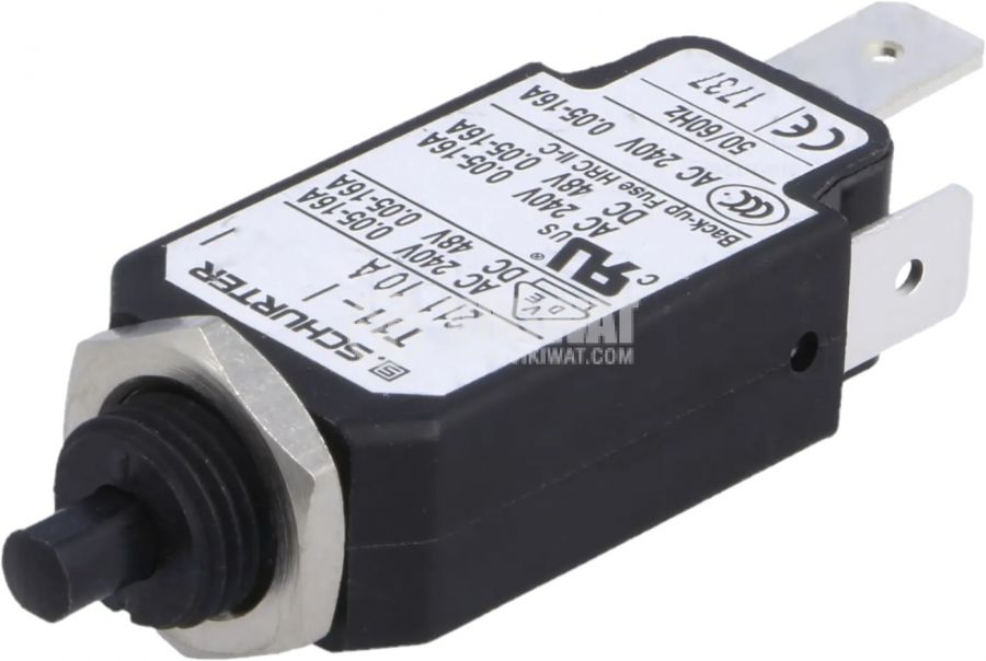 Токова защита T11-211-10A, 240VAC/48VDC, 10A, еднополюсна