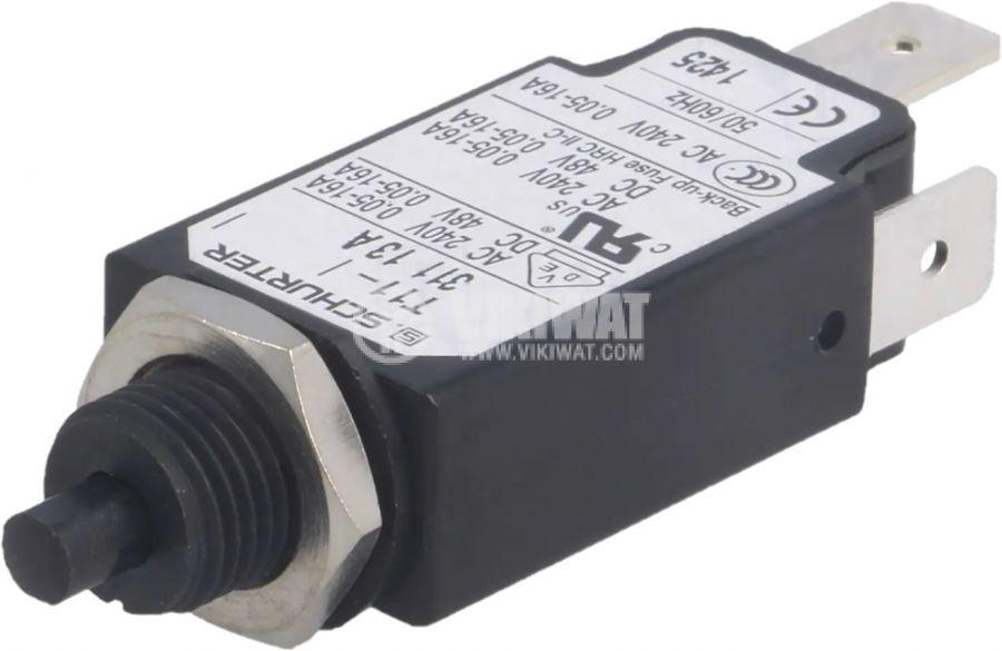 Токова защита T11-311-13A, 240VAC/48VDC, 13A, еднополюсна