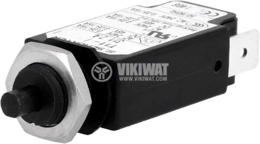 Токова защита T11-311-2A, 240VAC/48VDC, 2A, еднополюсна