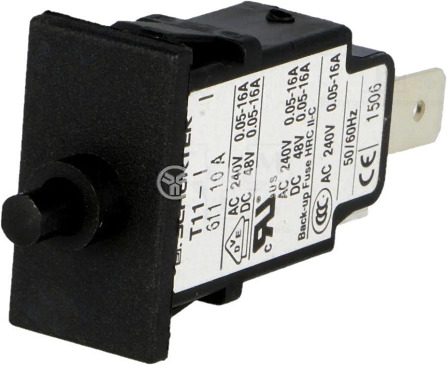 Токова защита T11-611-10A, 240VAC/48VDC, 10A еднополюсна