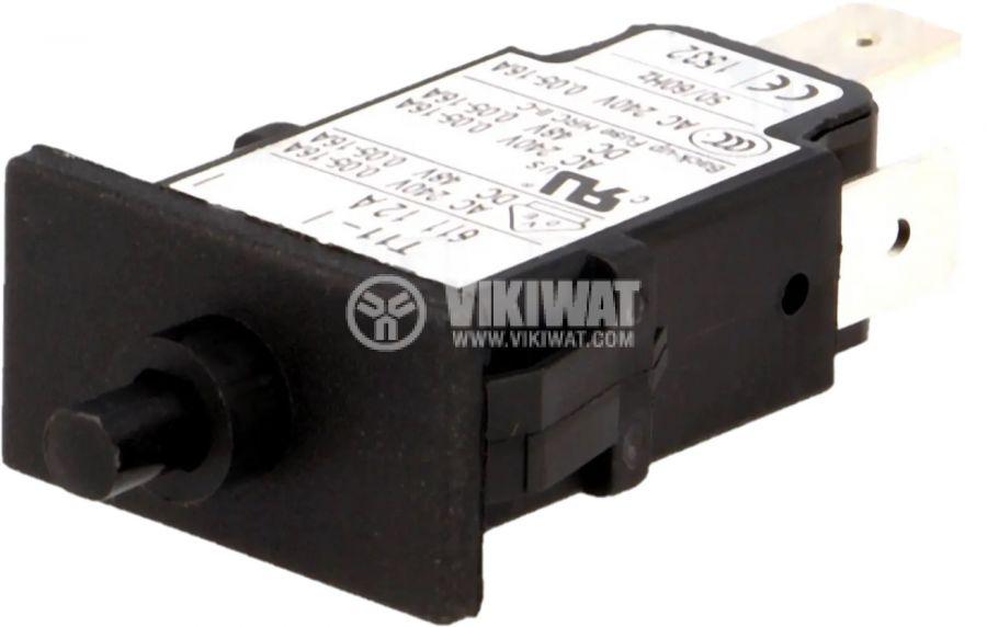 Токова защита T11-611-12A, 240VAC/48VDC, 12A, еднополюсна