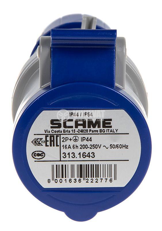 Socket SCAME 313.1643 - 3