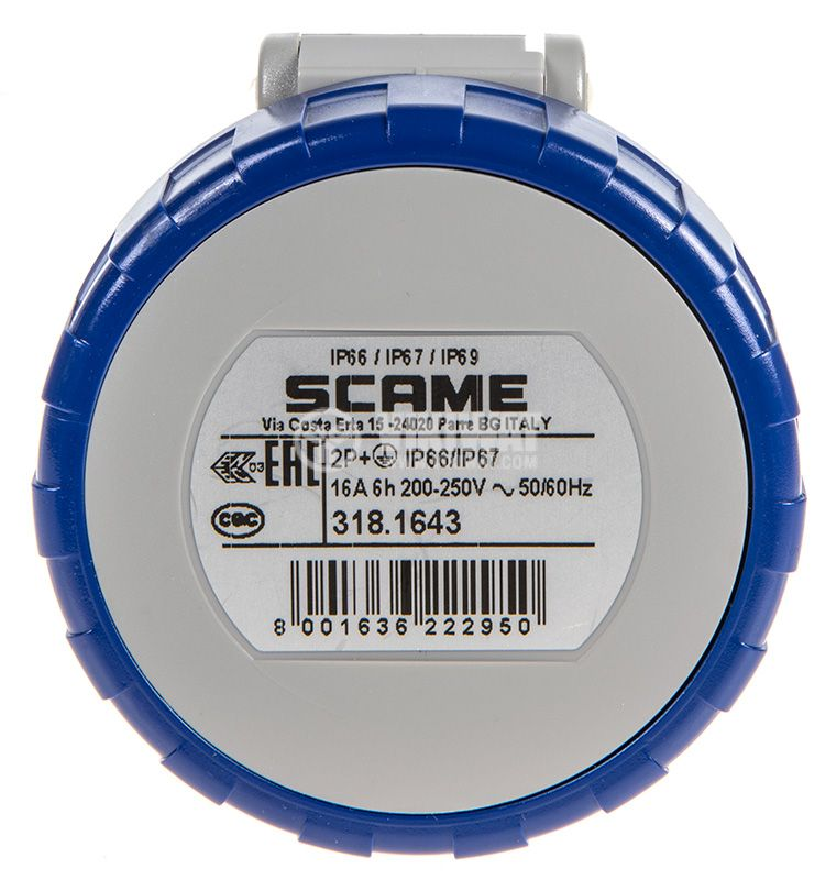 Socket SCAME 318.1643 - 2