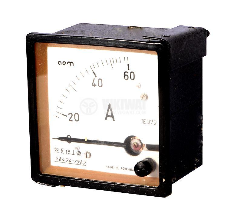 Aмперметър 1EQ72, 60 А, AC, директен