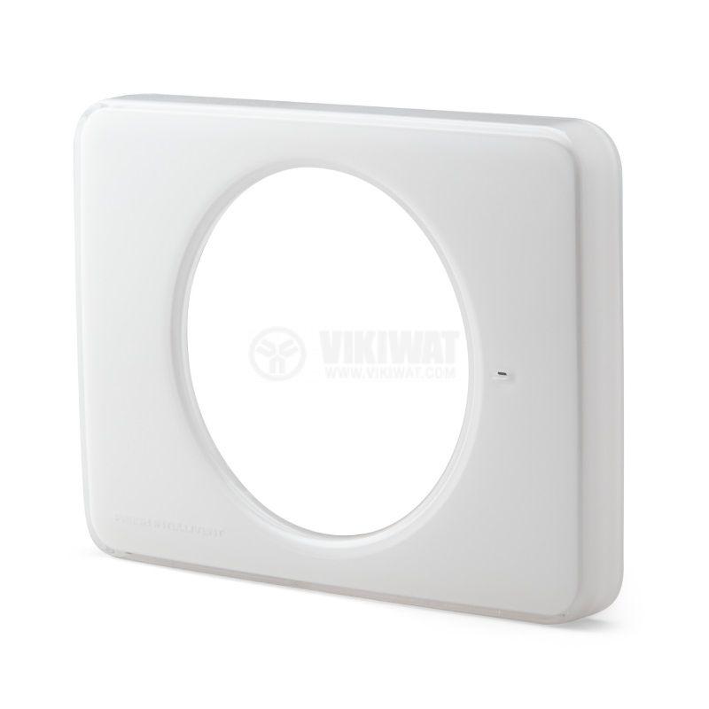 Преден панел за вентилатор за баня Fresh Intellivent 2, бял, - 1