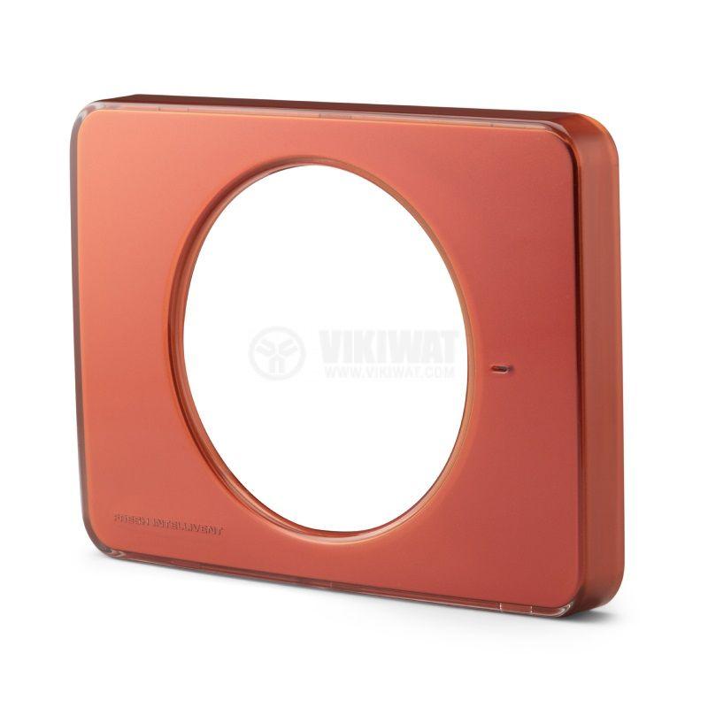 Преден панел за вентилатор за баня Fresh Intellivent 2, червен, 202x152mm - 1