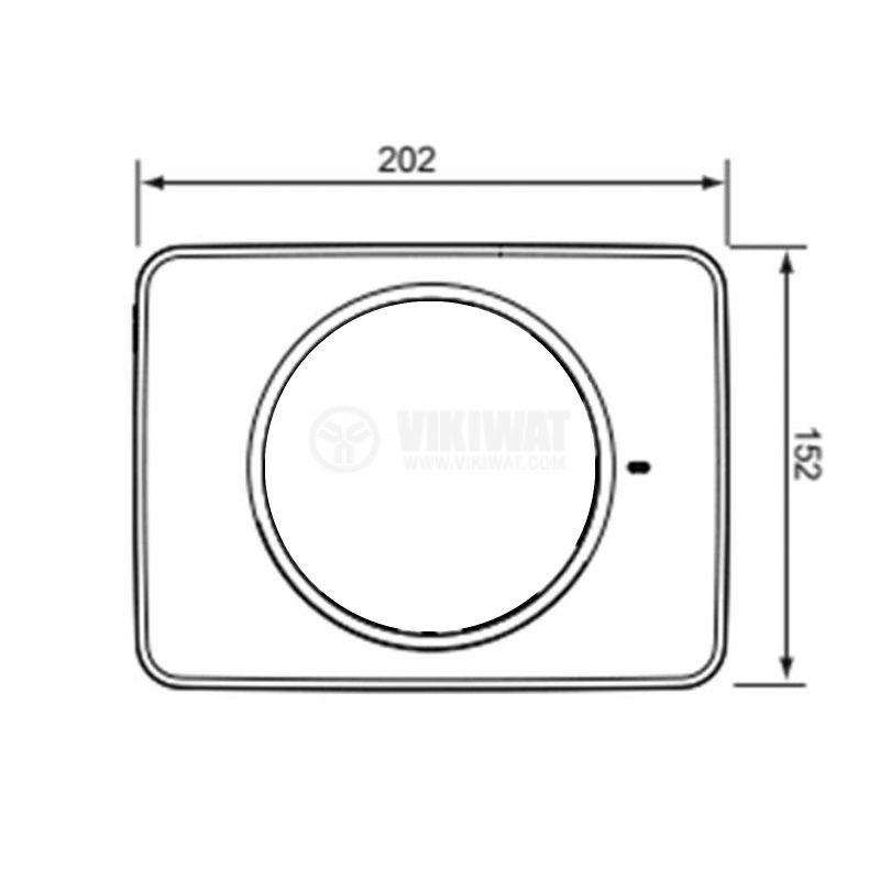 Преден панел за вентилатор за баня Fresh Intellivent 2 - 2