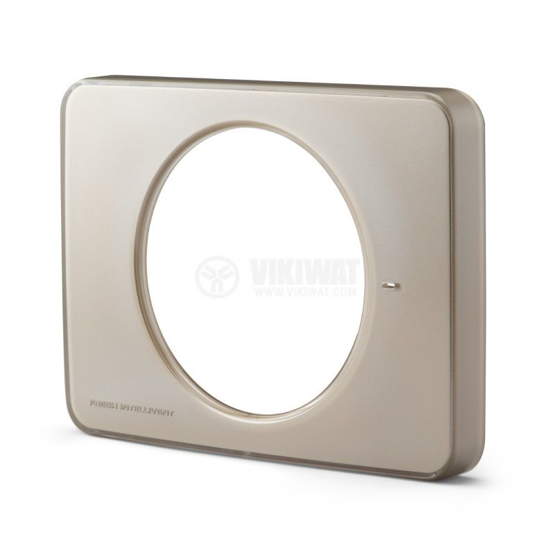 Преден панел за вентилатор за баня Fresh Intellivent 2, шампанско - 1